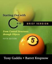 Starting out with C++ Brief (5th Edition)-ExLibrary