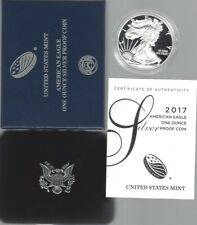 USA: American Eagle One Ounce Silver Proof Coin 2017, Silber