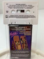 Jackson 5 feat Michael Jackson Motown Legends (Cassette)