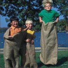 Hessian Potato Sacks - Set of 12...The sack race is back!