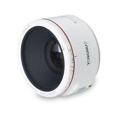 Yongnuo YN 50MM F1.8II 1:1.8 Prime Auto Focus lens white For Canon EF EOS Camera