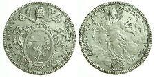 pci0335) Stato Pontificio Pio VI Scudo o Piastra (80 bolognini) 1780