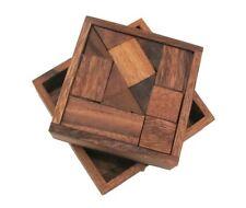Überraschungsbox Holz Puzzle Knobel IQ-Spiel