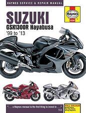 Haynes M4184 Repair Manual for 1999-04 Suzuki GSX1300R Hayabusa