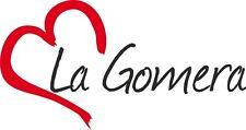 """Auto Aufkleber """" LA GOMERA """" Sticker Insel Spanien ca.8x16cm konturgeschnitten"""