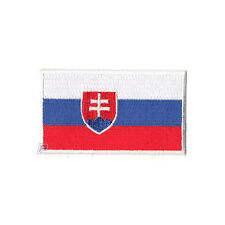 Slovakia Embroidered Country National Flag Iron On Patch Emblem Team