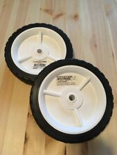 "Set/Pair of Arnold 7"" x 1.50"" Plastic Mower Wheel*Diamond Wheel"