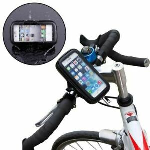 Bicycle 360° Mount Holder Waterproof Phone Case Fits All Phones Universal