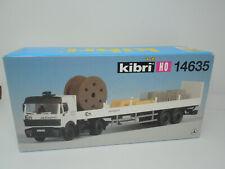 Kibri H0 14635 MB LKW mit Auflieger ENBW - Neu