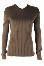 David Lawrence Striped Knit Tops for Women