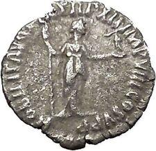 COMMODUS Son of Marcus Aurelius Rare  Silver Ancient Roman Coin Nobilitas i51030