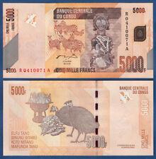 KONGO / CONGO  5000 Francs 2005 (2012)  UNC P. 102 a