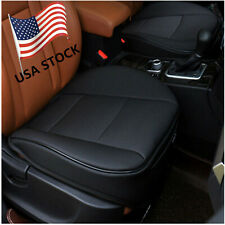 USA Black PU Leather 3D Full Surround Car Seat Protector Seat Cover Accessories
