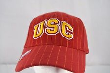 USC Trojans Red/Gold Pin Stripes Baseball Cap Adjustable