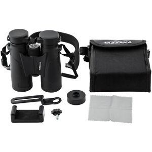 10X42 Binoculars Compact Adult High Power HD Professional BAK4 Roof Prism New