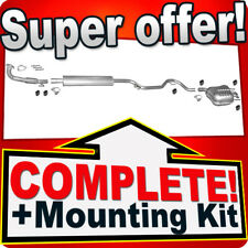 Saab 9-3 1.8 2.0/1.8 2.0 Bio 150/175/194 HP +Pipe 2005-2012 Exhaust System J68
