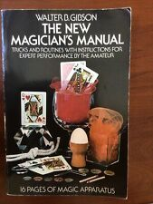 The New Magician's Manual by Walter B. Gibson - Vintage 1975 Magic Book - Vg