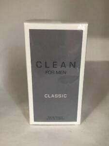Clean Classic For Man  3.4 fl oz 100ml EDT Eau de Parfum - Sealed