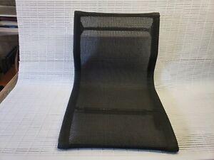 Genuine Herman Miller Eames Aluminum Group Management Black Mesh (No Base)