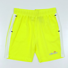 Ellesse Versano Short Infant - Neon Yellow/White
