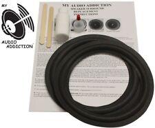 """Speaker Surround Repair Kit Dahlquist 8"""" Woofers Dq-12 Dqm 3,5,7,9 Mc201 Magnat"""