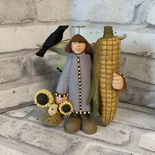 Williraye Studio Harvest Angel WW7656 Figurine Into The Garden 2005