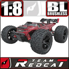 Team Redcat TR-MT8E V2 1/8 Scale Brushless Electric 4WD RC Monster Truck Red NEW