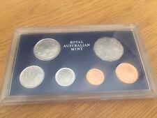 Australia 1972 Proof coin Set Royal Australian Mint Rare Key Year