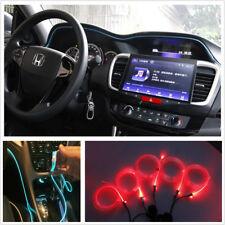 Car Interior Dash Door Center sonsole Gap RGB Light Guide Strip BT APP Control