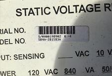 Basler Static Voltage Regulator SR4A-2B15B3A