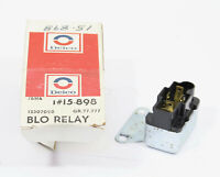 PONTIAC OLDSMOBILE HVAC BLOWER RELAY CHEVROLET 70/'s BUICK ACD  # 15-898