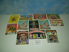 """Lot of 12 Original 1986 Garbage Pail Kids Post Cards Approx Size 6 7/8"""" x 4 7/8"""""""