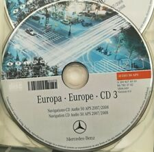 Mercedes Navigation CD Audio 50 APS 2008 - CD3 FRANCE / BENELUX  orange NTG2
