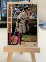 2019 Topps Series 1 Silver Pack LUIS URIAS ROOKIE Card RC San Diego Padres