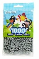 1000 Perler Grey Color Iron On Fuse Beads: 80-19017