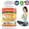 Ashwagandha High Potency Natural Anti-Stress & Mood & Thyroid Support Supplement