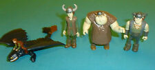 How to Train Your Dragon Action Figures Toothless Hiccup Snotlout & Fishlegs