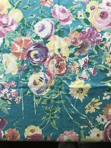Vintage Collier Campbell Cotton Liberty Fabric FQ Floral Flowers Material Sarah
