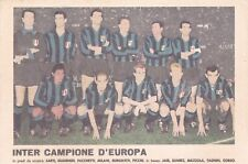 Inter 1965a Cartoline Da Collezione A Tema Sport Ebay