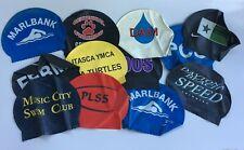 Vintage Swim Cap New Old Stock Unused Latex Hat Swimwear Swimming Your Choice