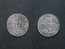 Hessen  X Kreuzer 1728