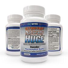 Naturally Huge Male Enhancement pills 1 bottle (1 month supply)