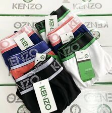 4/8 Pack KENZO Mens Luxury Cotton Trunks size M-2XL