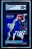 2018-19 Panini Threads Luka Doncic Rookie Our Time Dazzle #15 SGC 10