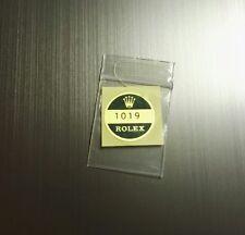 BOLLINO ROLEX REFERENZE 1019
