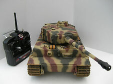 Taigen 1/16 2.4 GHz RC German Tiger 1 Late Camouflage IR Tank Metal Tracks