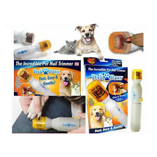 PEDI PAWS PET NAIL TRIMMER BATTERY POWERED CATS DOGS PARROTS BIRDS FAST EASY NEW