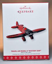 """Hallmark: Travel Air Model R """"Mystery Ship"""" - Sky's The Limit - 2017 Ornament"""