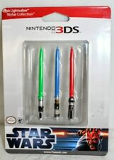 Star Wars Star Wars 3pk Lightsaber Stylus collection for Nintendo 3DS New Sealed