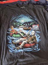 New listing Freddy vs Jason T Shirt Camp Crystal Lake Xl